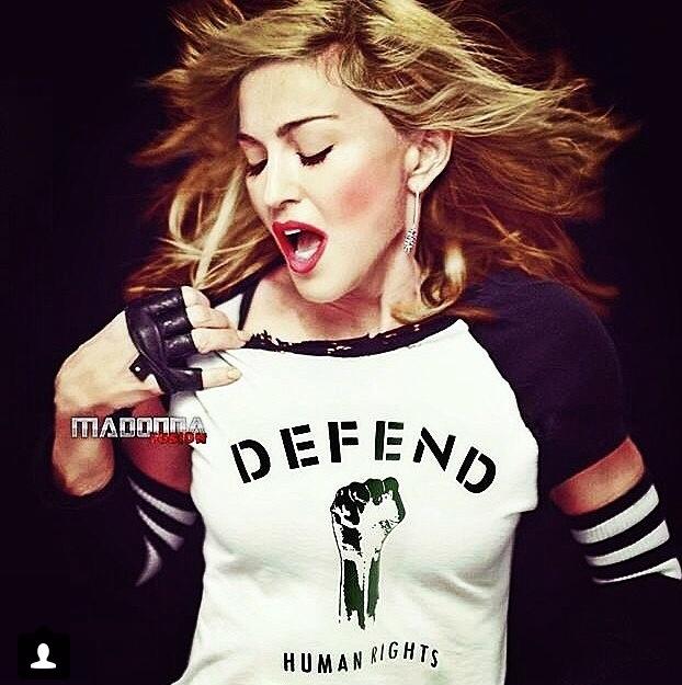 Defend, Defend Paris, Defend Human Rights, Madonna, Chris Brown Rihanna, Akon,