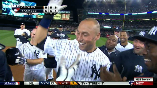 jeter walkoff