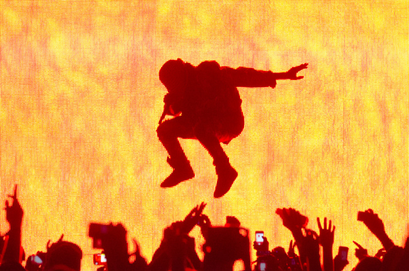 kanye made in america performance