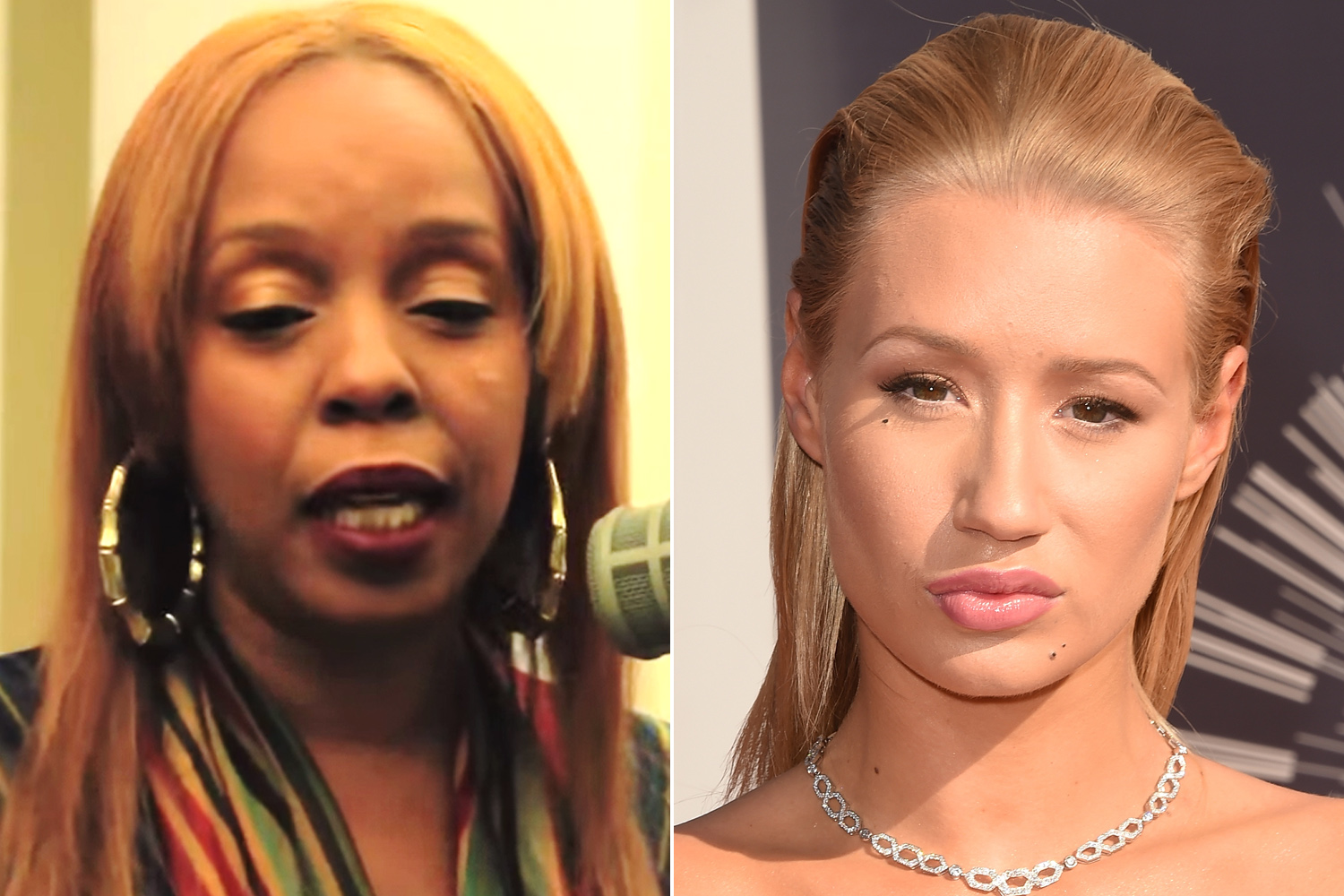 Rah Digga Iggy azalea doesnt mess with twitter