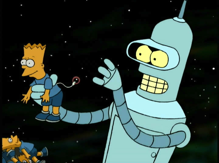 The Simpsons X Futurama Crossover Episode Revealed The
