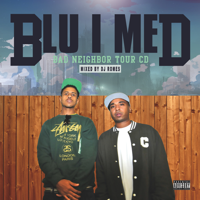 Blu MED Tour Mix Artwork Final