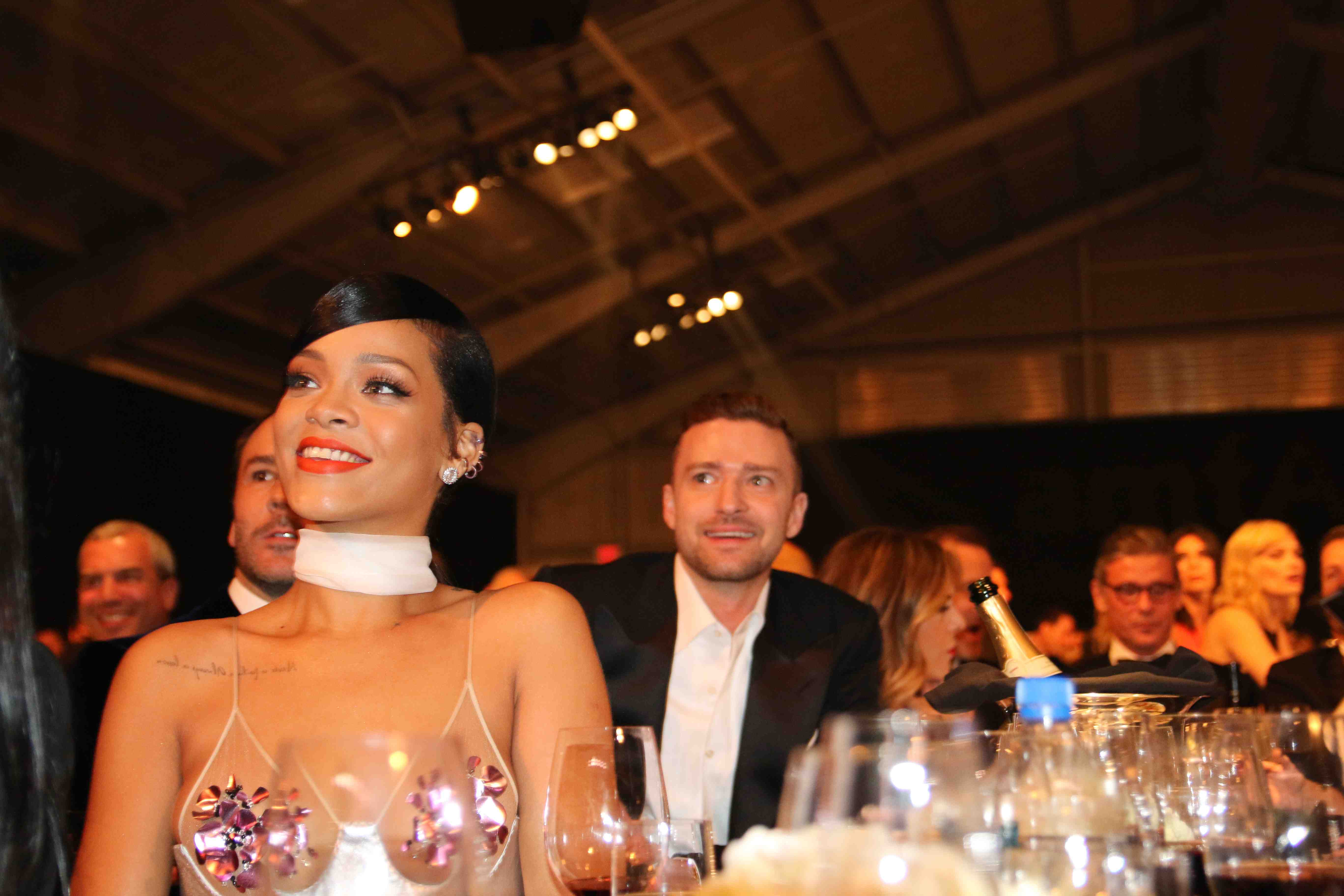 RIhanna and Justin Timberlake