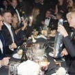 Tom Ford and Gwyneth Paltrow with Silver Saber bottle