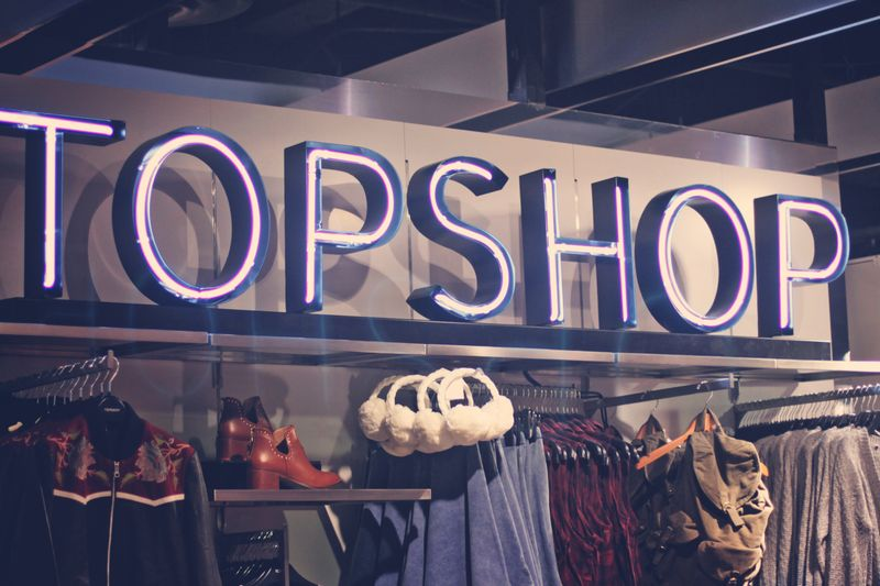 Topshop Vancouver Opening