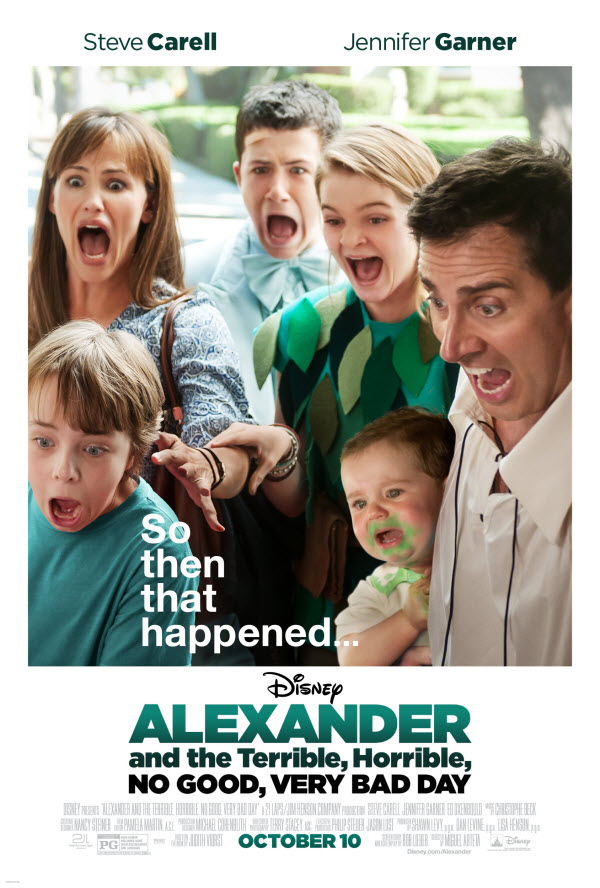 alexander terrible horrible day may   poster