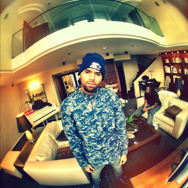 "Chris Brown On Ebola: ""I Think It's A Form Of Population ...