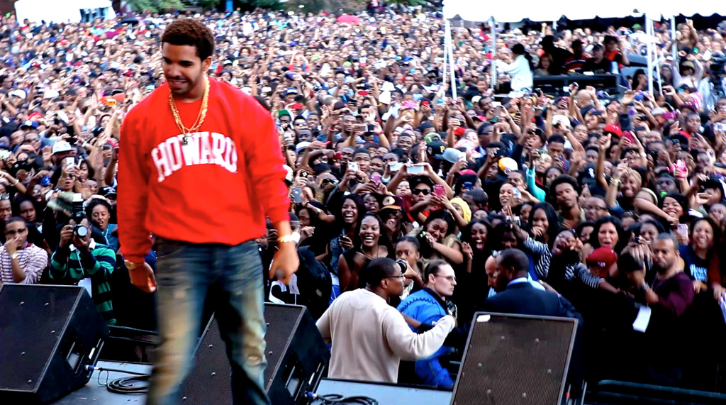 Drake, HU homecoming