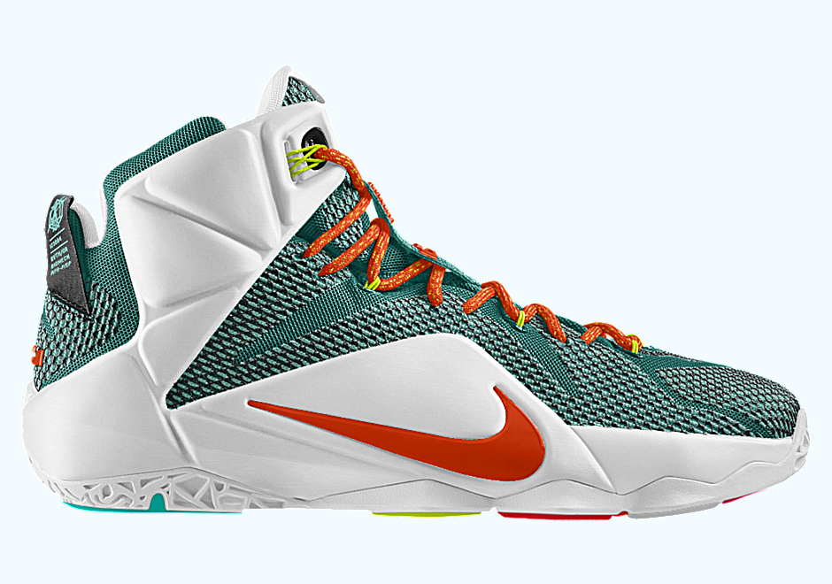 8399c1d2ad1 Hook Up The Nike LeBron 12 Any Way You Like On Nike iD | The Source