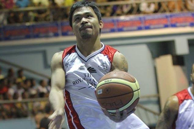 manny pacquiao basketball