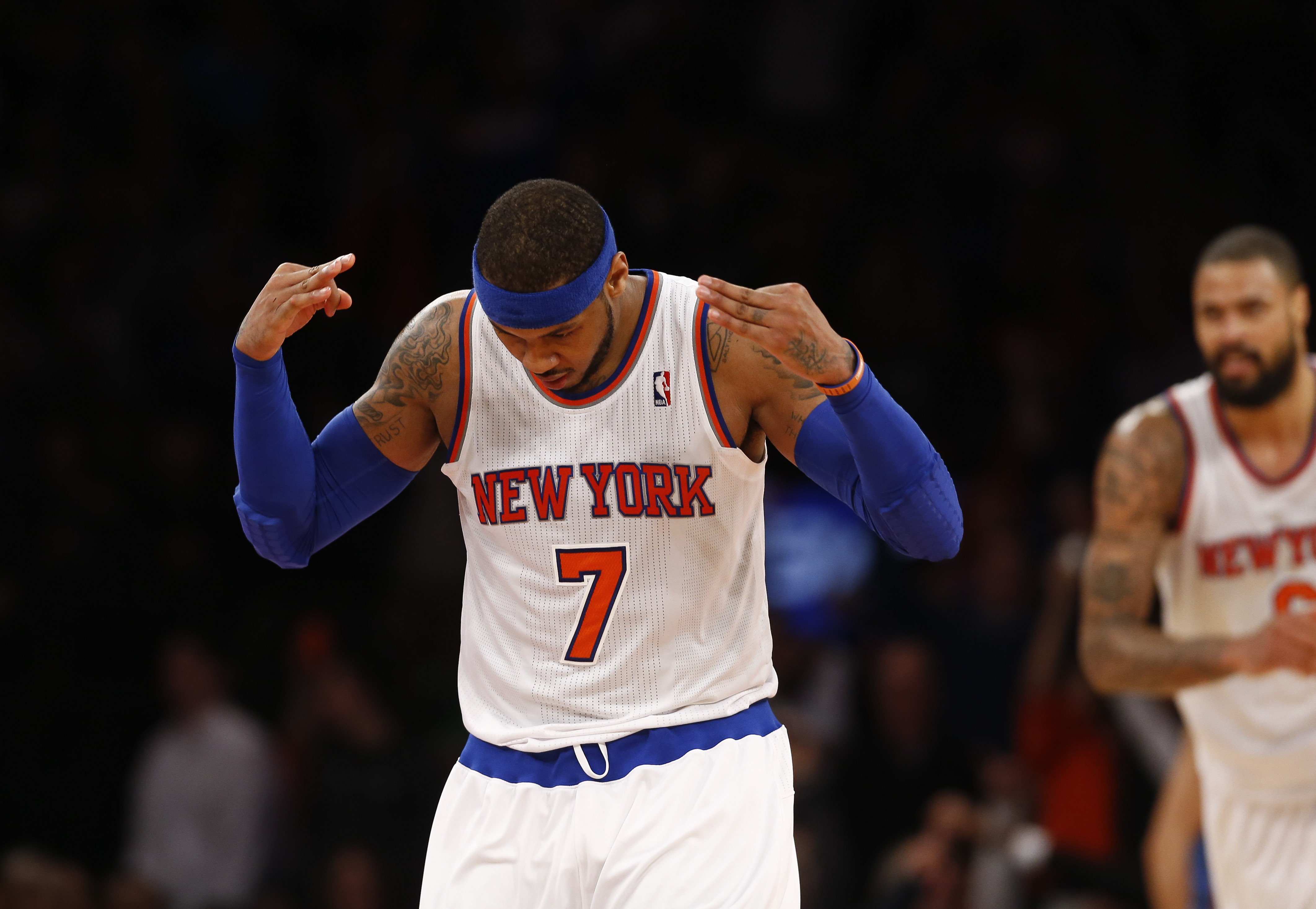 carmelo anthony drops wicked troll when asked about the