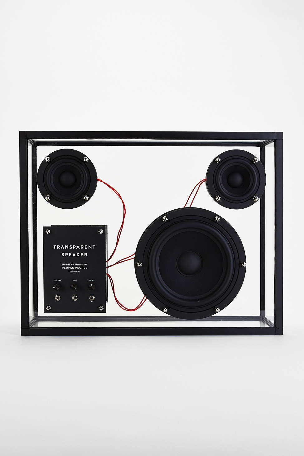 People People Transparent Speaker, urban outfitters, her source vices,