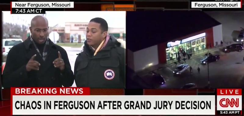 Don Lemon Van Jones CNN Ferguson
