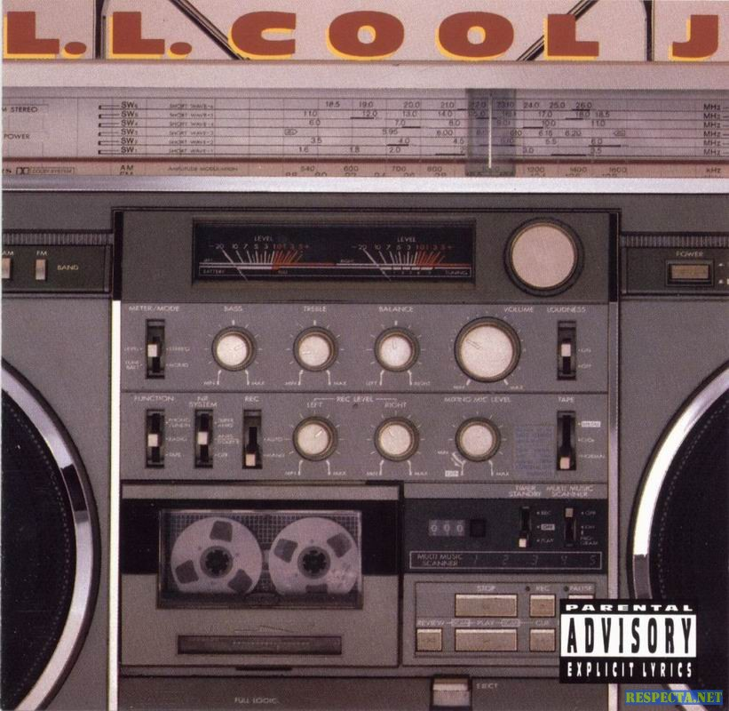 LL Cool J Radio Album Cover Boombox JVC RC Mjpg