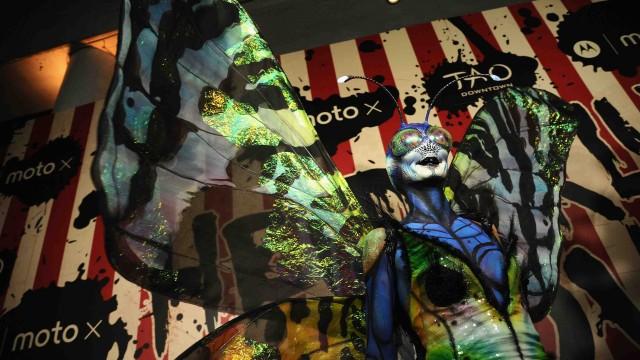 Moto X Presents Heidi Klum's 15th Annual Halloween Party Sponsored By SVEDKA Vodka At TAO Downtown - Arrivals