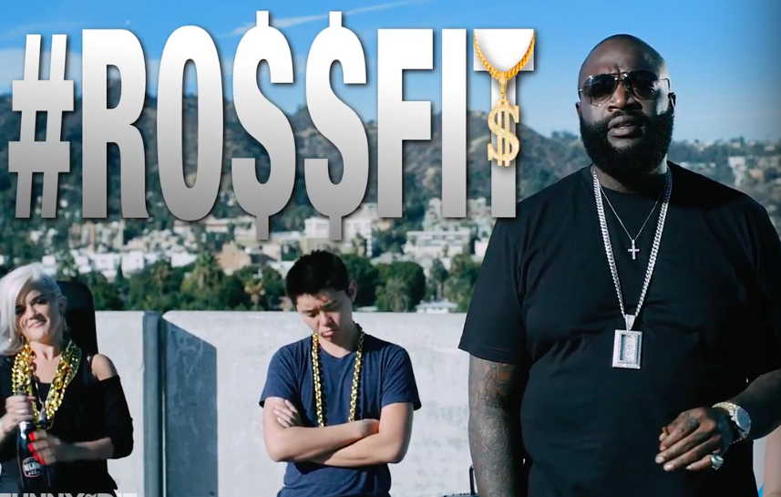 rick ross, rossfit, hoodbillionaire, the source, funnyordie