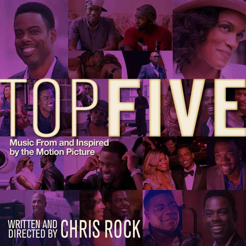 Top Five Soundtrack Cover Art