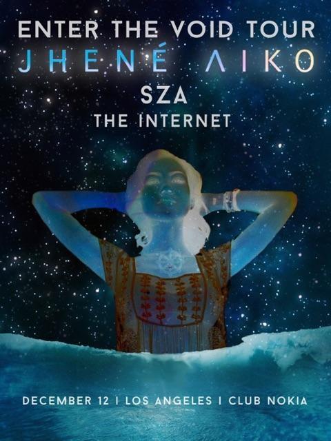 jhene aiko tour with sza the internet