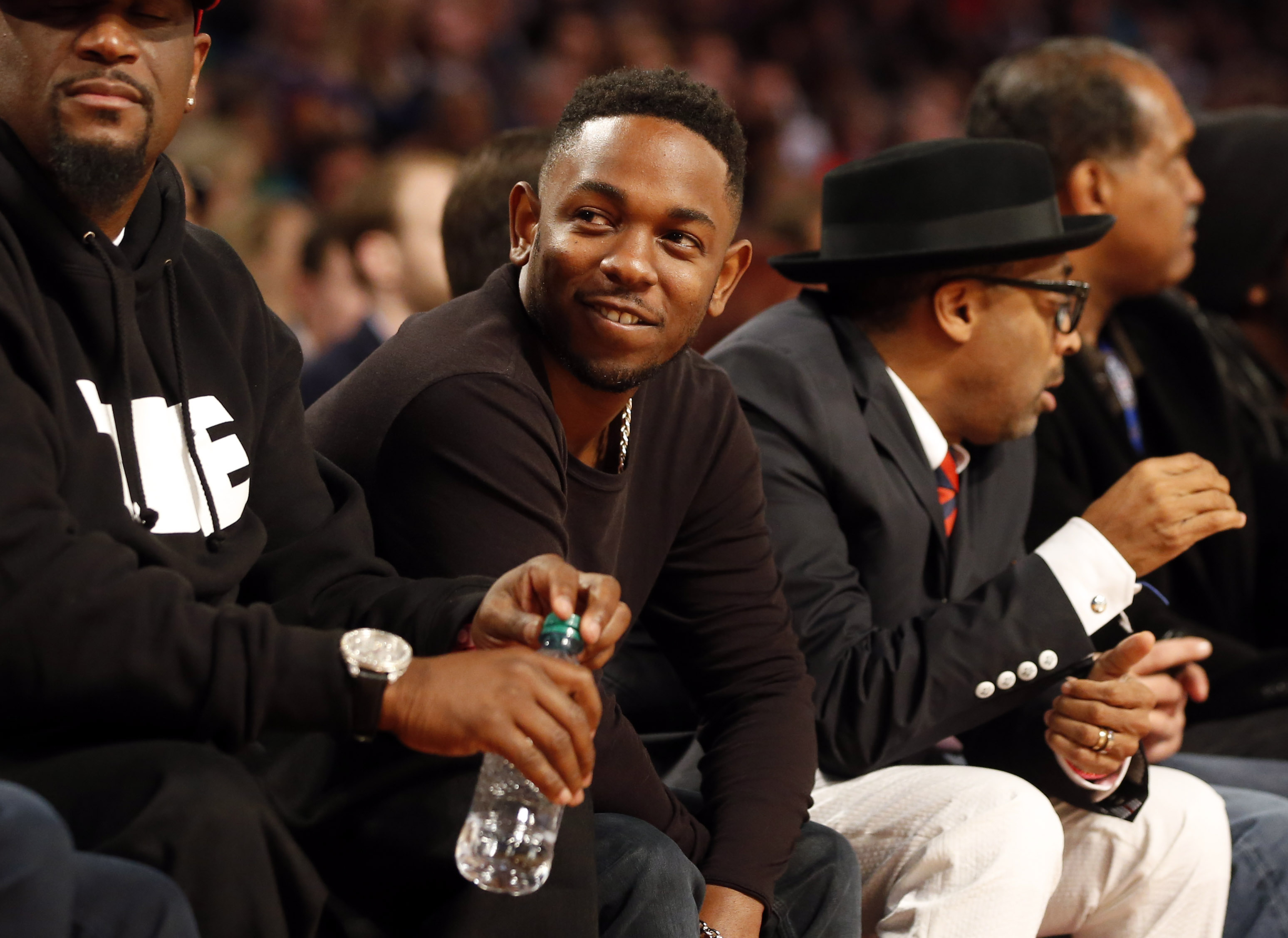 kendrick courtside