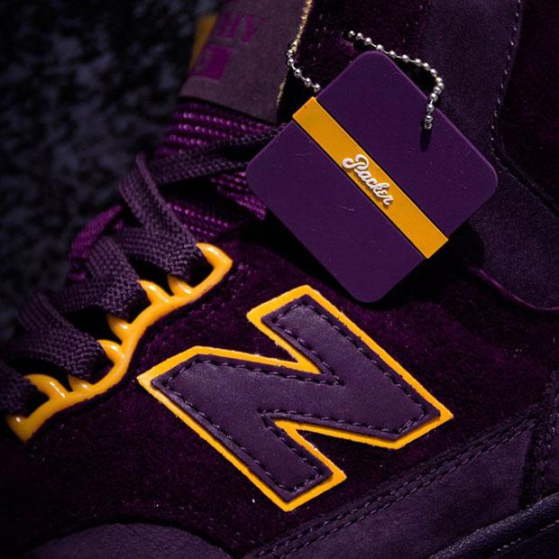 packer shoes new balance  purple reign