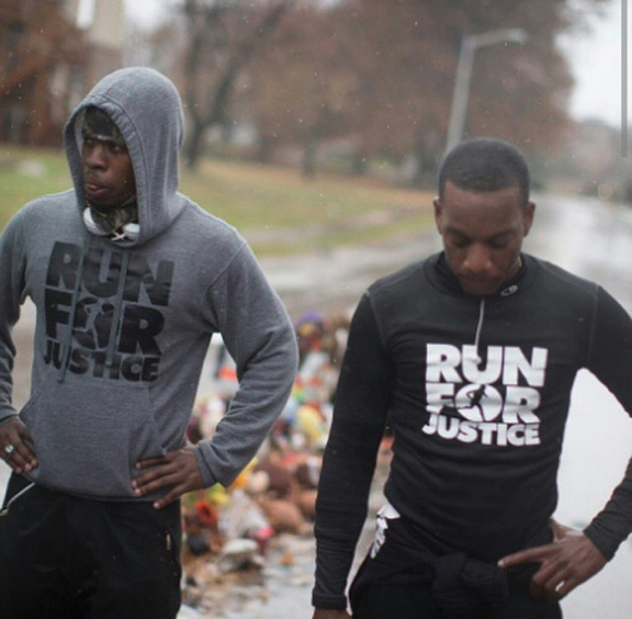 Run For Justice Londrelle Hall