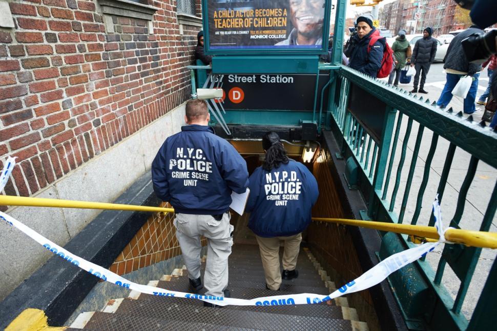 subway push victim