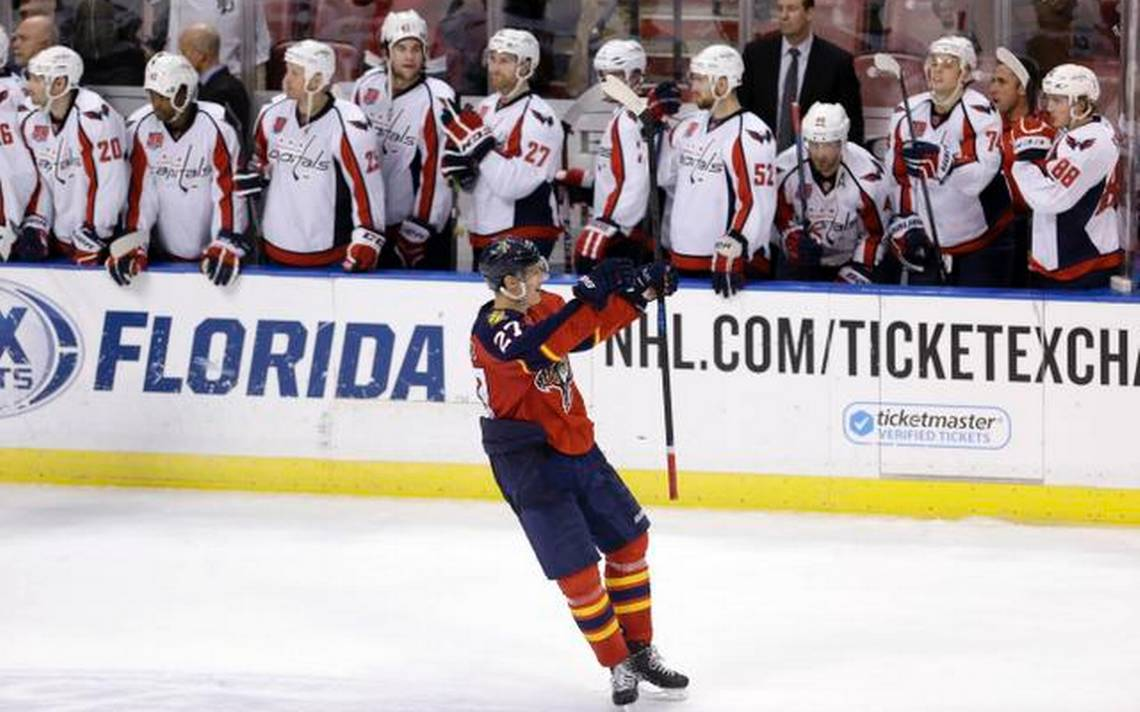 Capitals Panthers Hockey