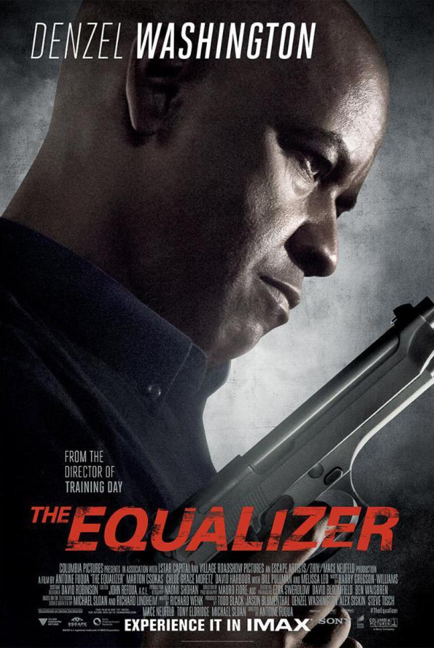 The Equalizer IMAX poster