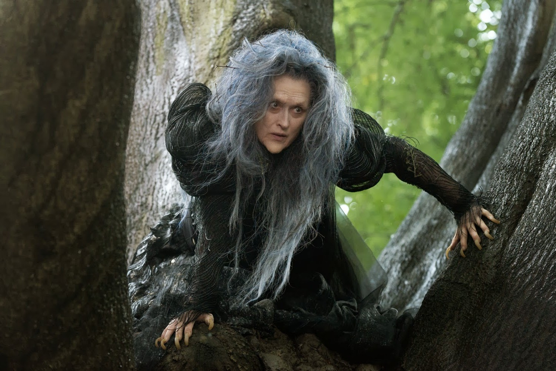 meryl streep plays witch disneys film adaptation into woods
