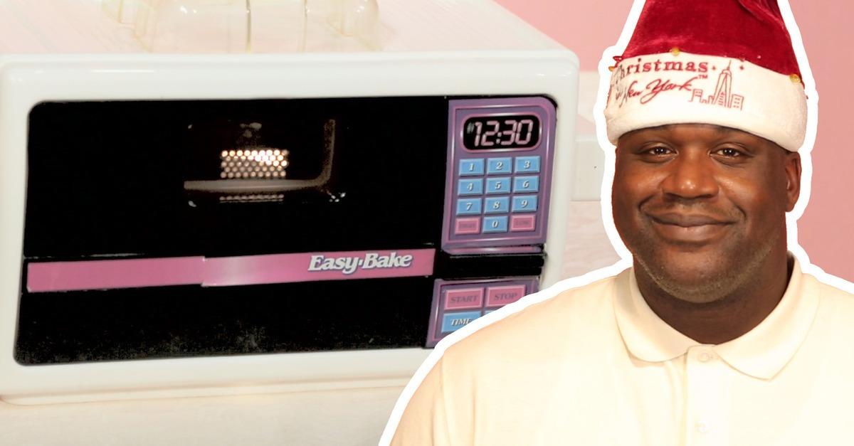 Shaq, Christmas, New, Easy Bake, Funny