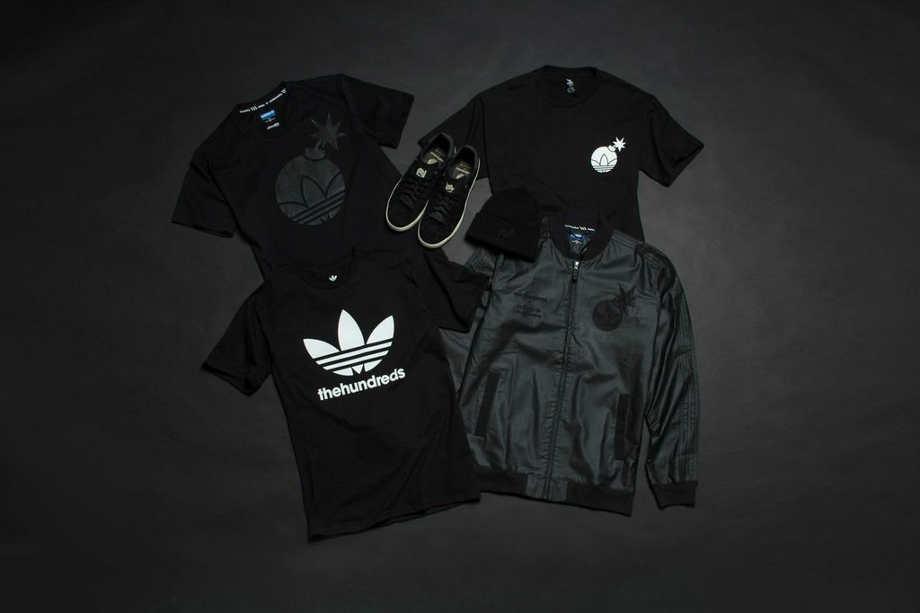 Check out The Hundreds x Adidas Skateboarding