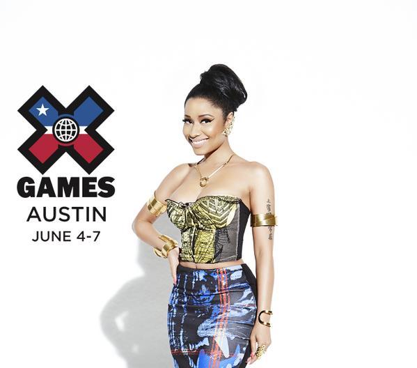 http://www.complex.com/music/2015/01/nicki-minaj-x-games-headliner-annoucement