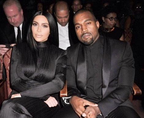 Kim Kardashian Kanye West BET Honors