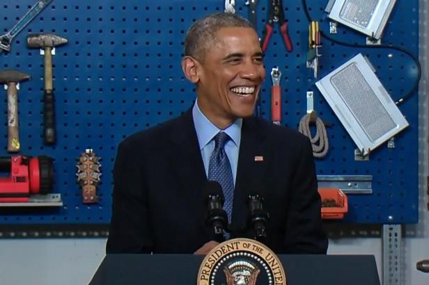 Obama at CFU