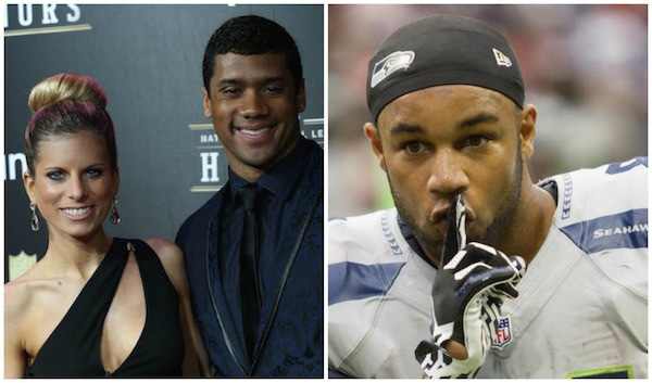 Is golden tate dating russell wilsons ex-wife