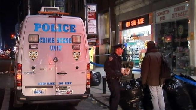 Times Square Stabbing NY
