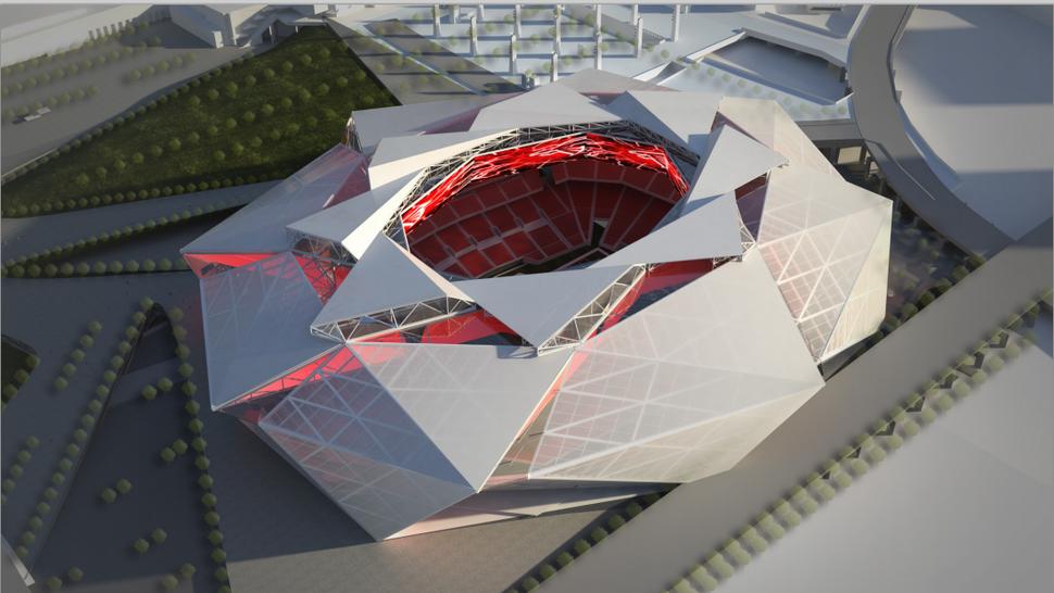 Get A Look At The Atlanta Falcons' Forthcoming Billion ...