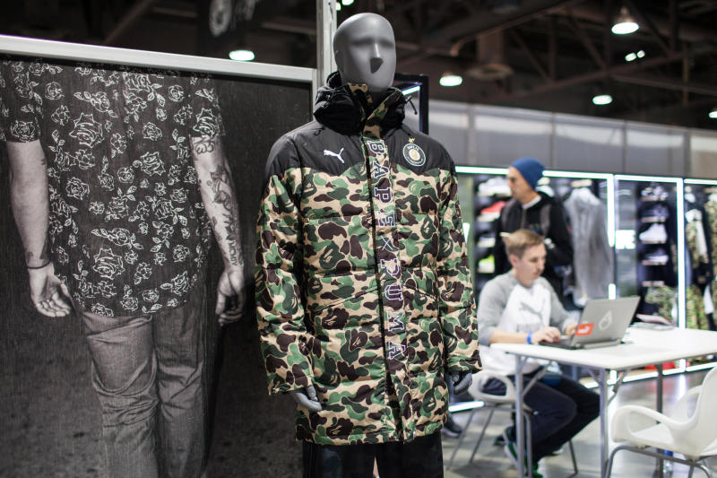 bathing ape x puma, puma, bape, nigo, fall winter 2015, the source magazine,