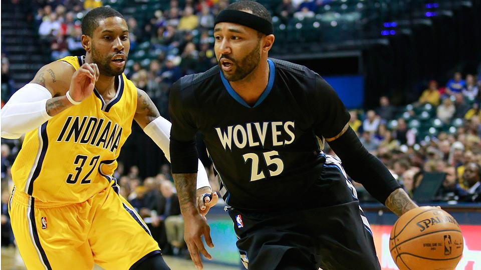 mo williams timberwolves pacers