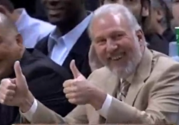 Gregg popovich thumbs up