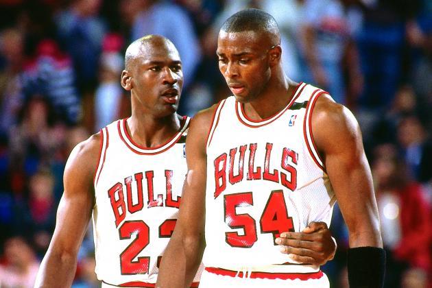 Michael Jordan Horace Grant