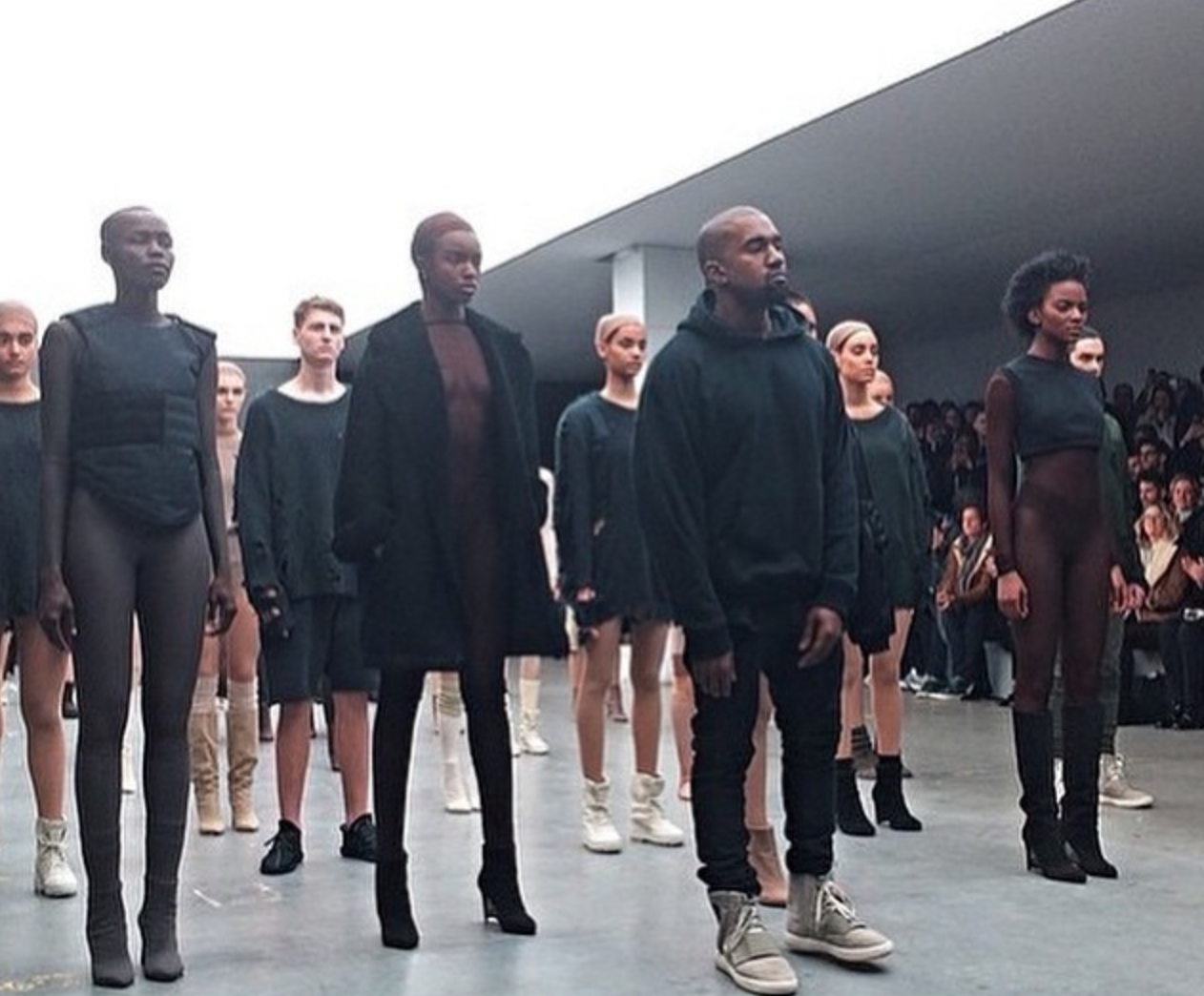 "67e213364 Kanye West Debuts ""Yeezy Season 1″ And A New Track Called ""Wolves ..."