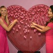 Victoria's Secret Supermodels Candice Swanepoel and Lily Aldridge reveal gift picks for Valentines Day