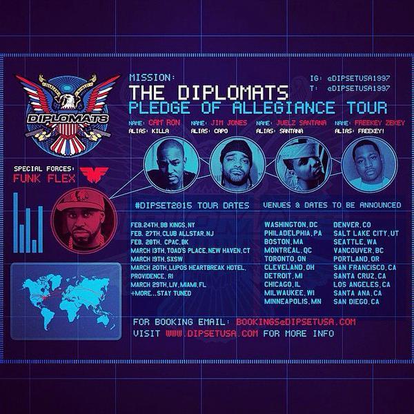 dipset tour