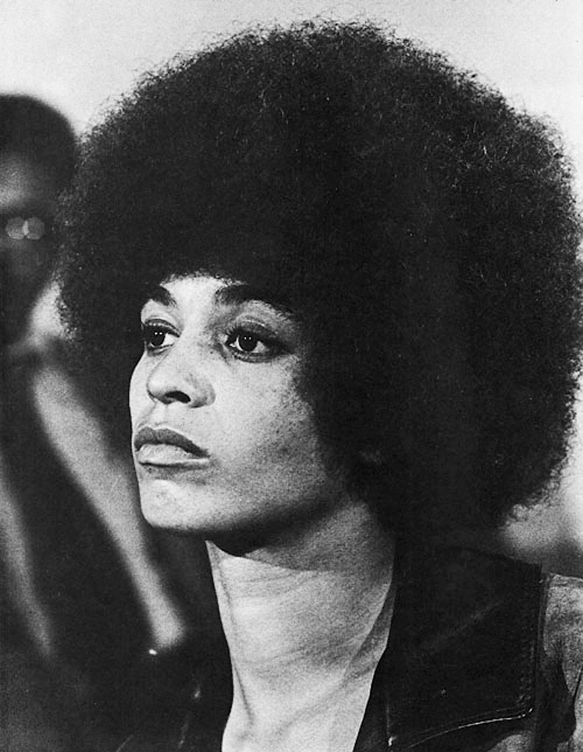 Angela Davis, black panther