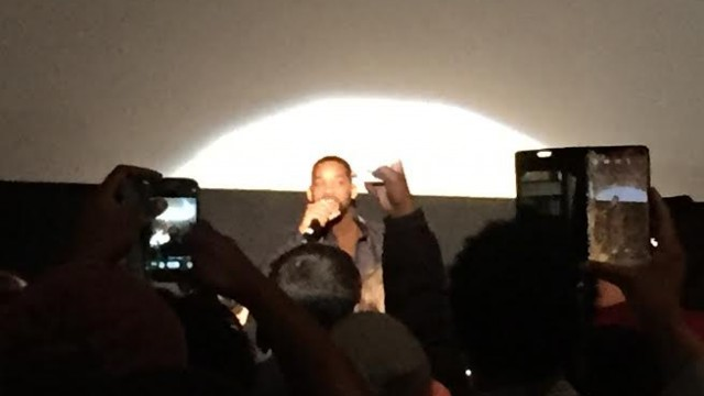 Will Smith Surprises Fans At 'Focus' Screening