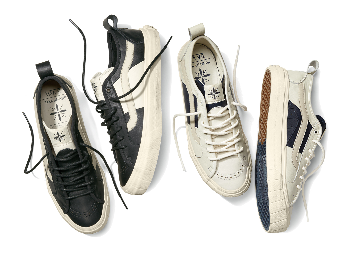 cee88128ba Vault by Vans x Taka Hayashi TH Court Lo LX Colorways for Spring 2015