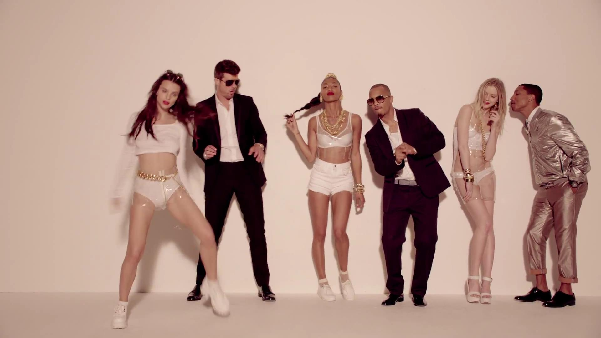 Robin Thicke Blurred Lines feat