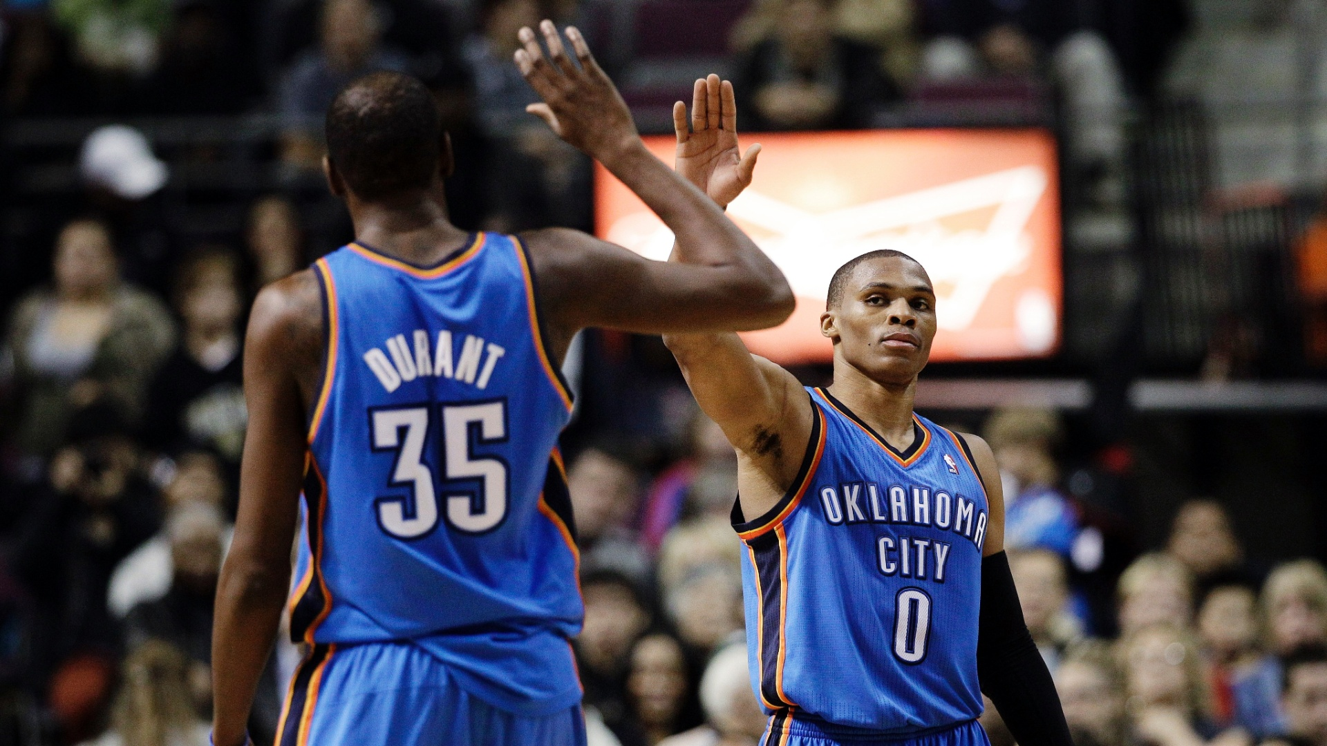 "Kevin Durant On Westbrook Being Better: ""Who Cares"" 