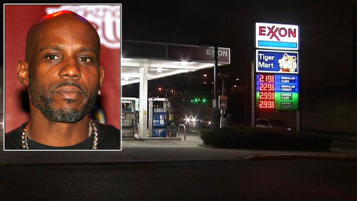 DMX Gas Robbery NY